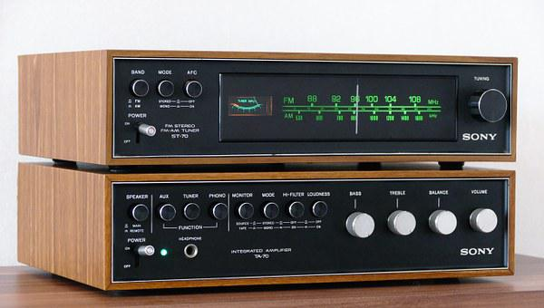 Stereo, Vintage, Audio, Music, Sound, Retro, Listen