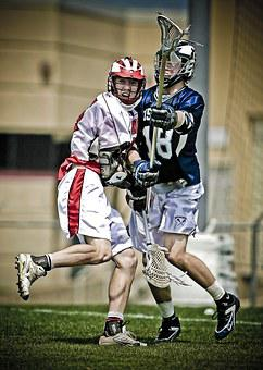 Lacrosse, Players, Clash, Conflict, Stick, Sport