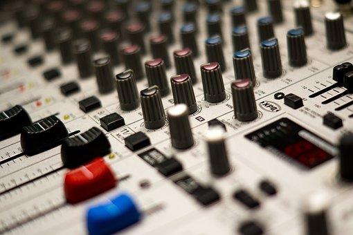 Mixer, Music, Studio, Stereo, Music System, Audio