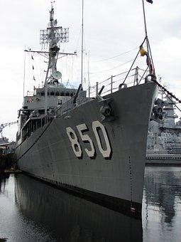 Battleship, Cove, Fall River, Massachusetts, Uss, War