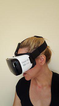 Vr, Virtual Reality, Headset, Head Set, Technology