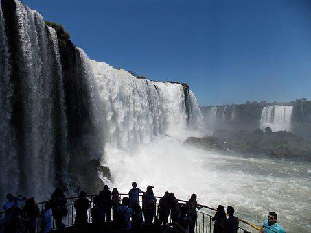 Cataracts, Foz, Water Falls, Waterfall, Iguaçu