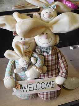 Welcome, Stuffed Animals, Stuffed, Animal, Soft, Cute