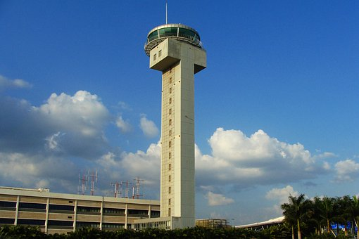 Atc Tower, Airport, Bangalore, India, Control, Traffic