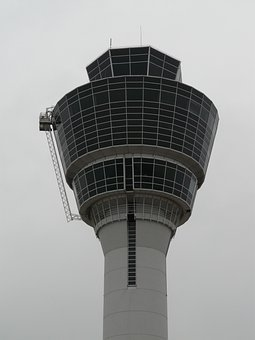 Control Tower, Tower, Airport, Air Monitoring, Building