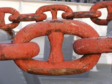 Anchor Chain, Shipping, Chain Link, Cap San Diego