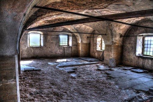 Vault, Keller, Ancient, Historically, Atmosphere