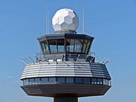 Tower, Aviation, Airport, Control Tower, Air Traffic