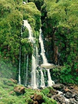 Iguazu, Waterfall, Cascade, Brazil, National Park
