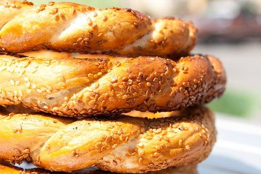 Sesame, Pastries, Food, Frisch, Breakfast, Kringel