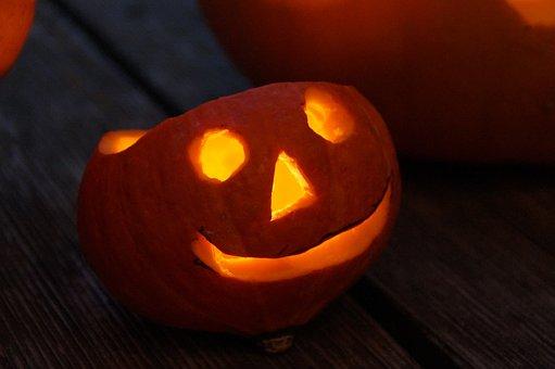 Pumpkin, Pumpkin Ghost, Autumn, Decoration, Halloween