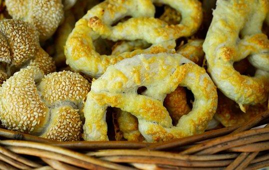 Pretzels, Pastries, Cheese Pretzels, Hearty, Baked