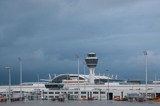 Airport, International, Munich, Architecture, Building
