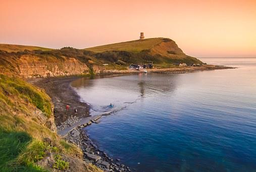 Kimmeridge Bay, Dorset, England, Of The Sea