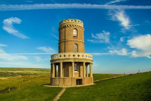 Clavell Tower, Building, Sky, Dorset, Kimmeridge