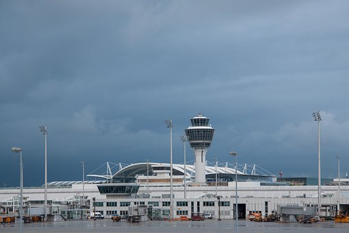 Airport, International, Munich, Architecture, Building