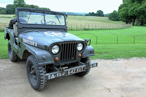 Willys Jeep, Jeep, Willys, Green, Vintage, Old