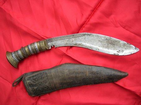 Arma, Pugnale, Cuky, Nepalese, Medioevale, Dagger