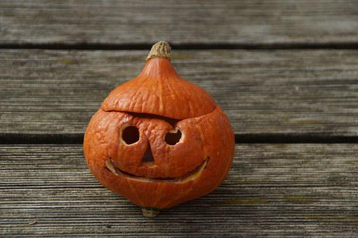 Halloween, Pumpkin, Pumpkin Ghost, Autumn, Face, Orange