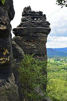 Saxon Switzerland, Rock, Elbe Sandstone Mountains