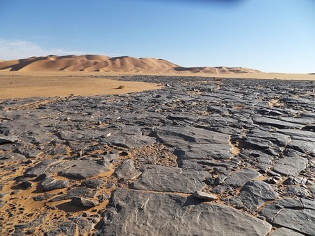 Way, Sand, Desert, Reprint, Dunes, Dry, Hot, Nature