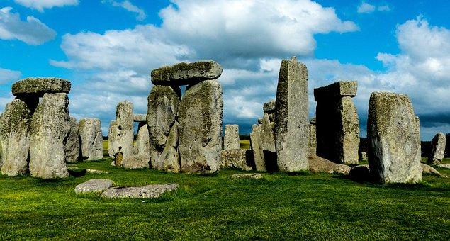 Stonehenge, Standing Stones, Ancient, England