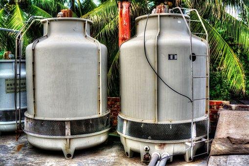Machine Cooler, Tank, Cooler Tank, Engineering, Machine
