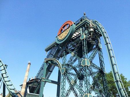 Efteling, Baron 1898, Theme, Roller Coaster, Holiday