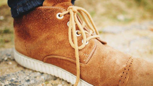 Shoe, Laces, Suede Shoes, Travel, Adventure, Walk