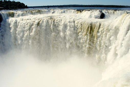 Iguazu Falls, South America, Iguazu, Waterfall