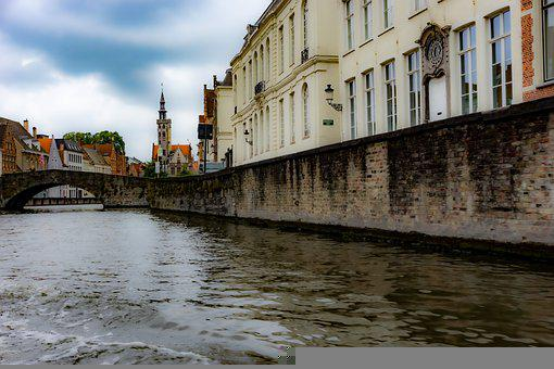 Building, Channel, Middle Ages, Historic Center