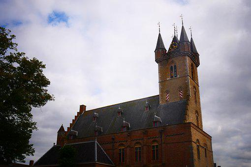 Church Tower, Tower, Church, Cathedral, Building
