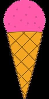 Ice Cream, Cone, Dessert, Ice Cream Cone, Cold, Sweet