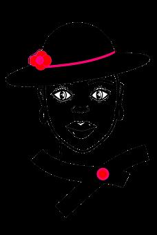 Woman, Fashion, Portrait, Elegance, Hat, Stylish