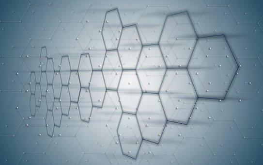 Hexagon, Honeycomb, Icon, Networks, Internet, Social