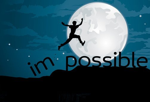 Impossible, Possible, Motivation, Positive Thinking