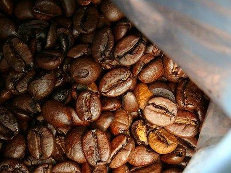 Coffee, Beans, Seed, Caffeine, Cafe, Aroma, Roasted