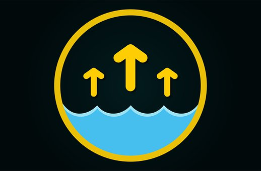Flood, Warning, Icon, Water, Flooding, Danger, Flooded