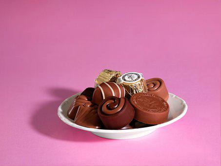 Chocolates, Snack, Treat, Confection, Sweets, Cocoa
