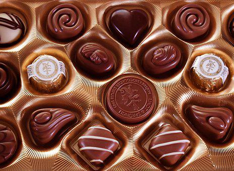 Chocolates, Confection, Sweets, Candies, Delicious