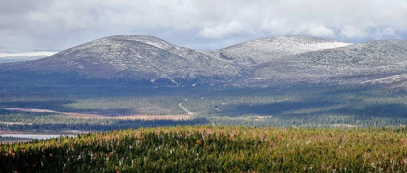 Mountains, Lapland, Fells, Terrain, Autumn, Ruska