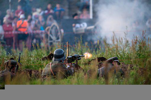Soldiers, Army, War, Shooting, Staging, Borkowo