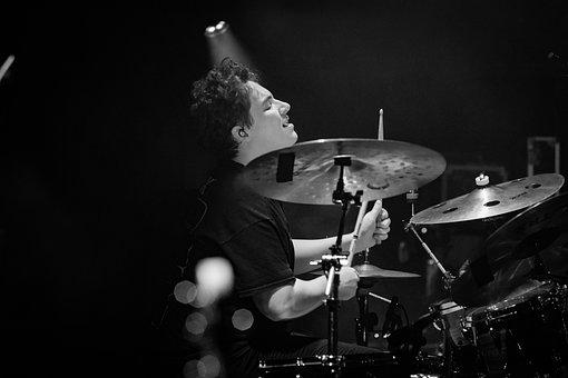 Those Who Dream, Band, Concert, Monochrome, Live Music