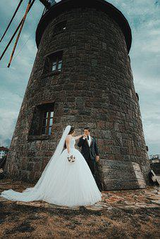 Wedding, Couple, Love, Bride, Groom, Marriage, Romantic