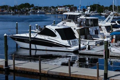 Boats, Dock, Port, Bay, Marina, Yacht, Harbor, Pier