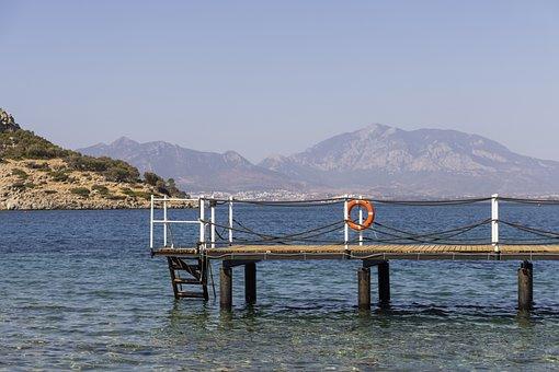 Dock, Sea, Coast, Ocean, Pier, Resort, Island, Summer