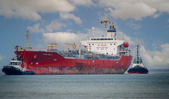 Cargo Ship, Seagoing Vessel, Tugboats, Pilots