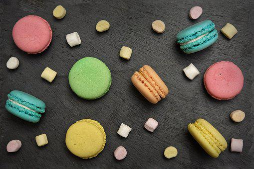 French Macaroons, Macarons, Cookies, Dessert, Pastries