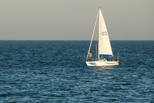 Sailing, Sea, Sailboat, Ocean, Sail, Nautical, Boat