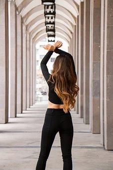 Woman, Model, Young, Silhouette, Beauty, Fashion, Pose